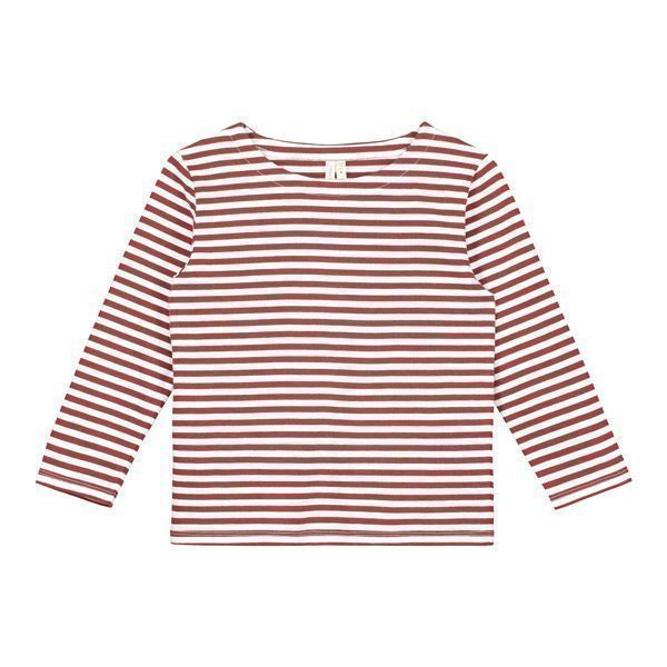 картинка Лонгслив Striped Burgundy интернет-магазин Mintymoon.ru