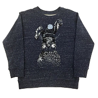 Свитшот Rabbit dark blue
