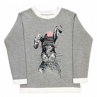 Свитшот Rabbit grey